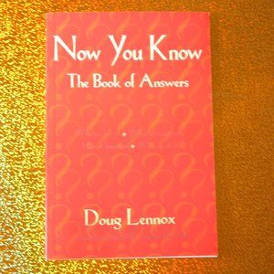 NOW You KNOW Answers book